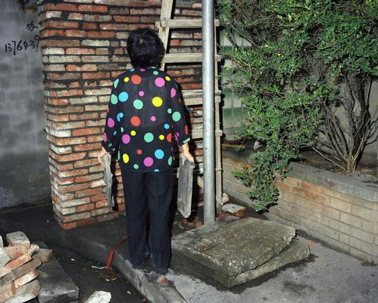 Bricklayer, Shanghai, 2007