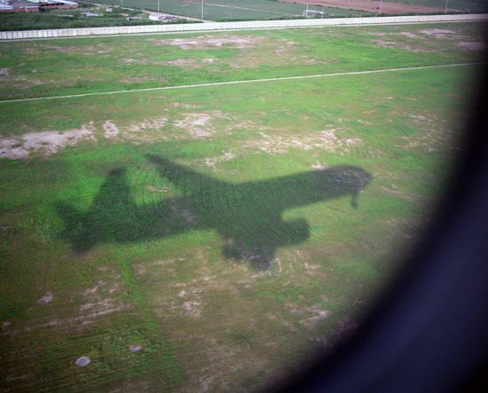 Plane Shadow, Shanghai, 2009