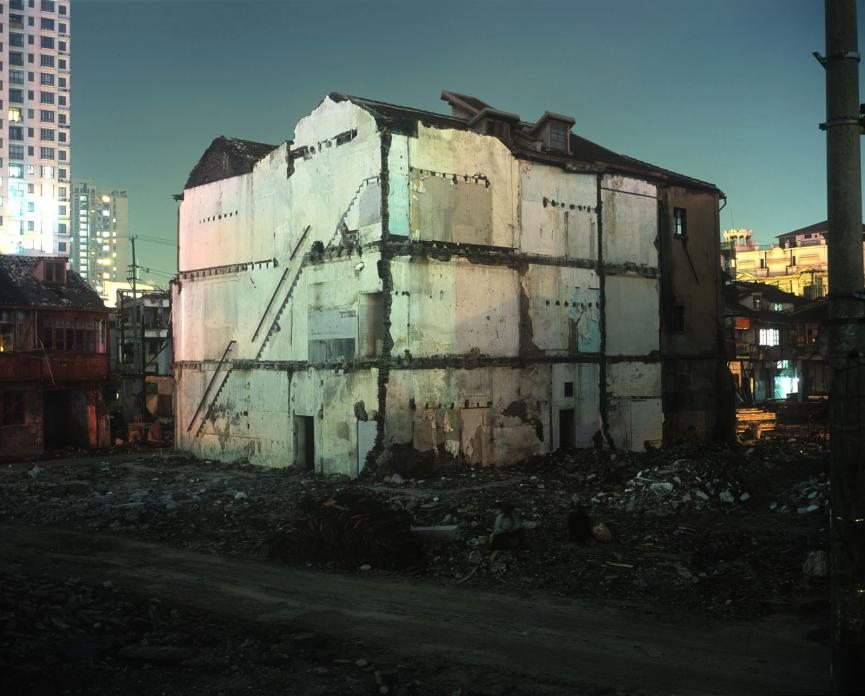 Condemned Building, Zhoupu Lu, 2006