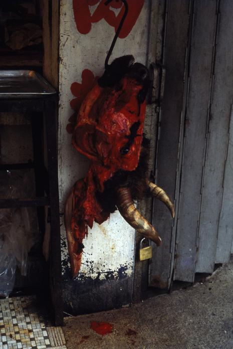 Butcher Shop, Mongkok, 1983