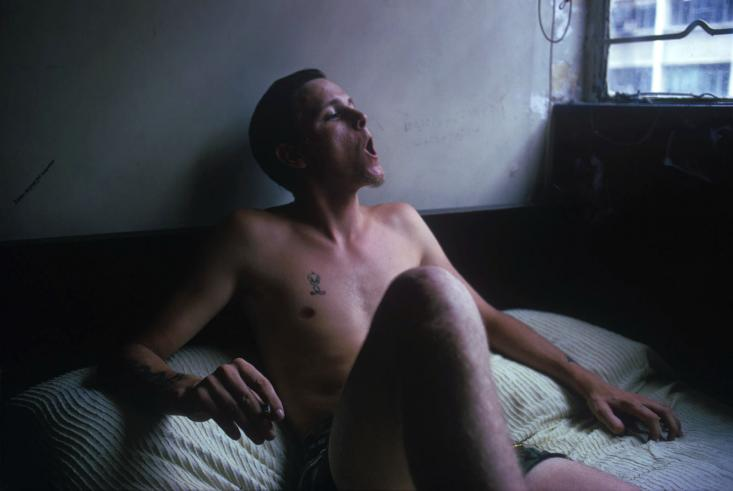 American Sailor in Hotel Room, Hong Kong, 1974