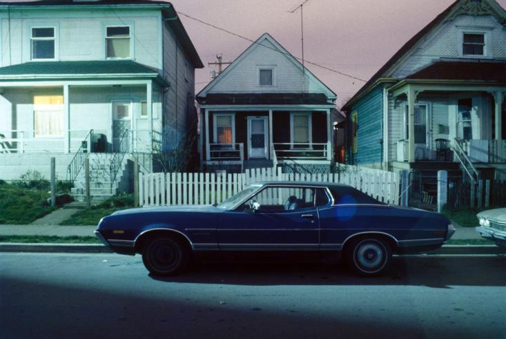 Parked Car, Union Street, Vancouver, 1981