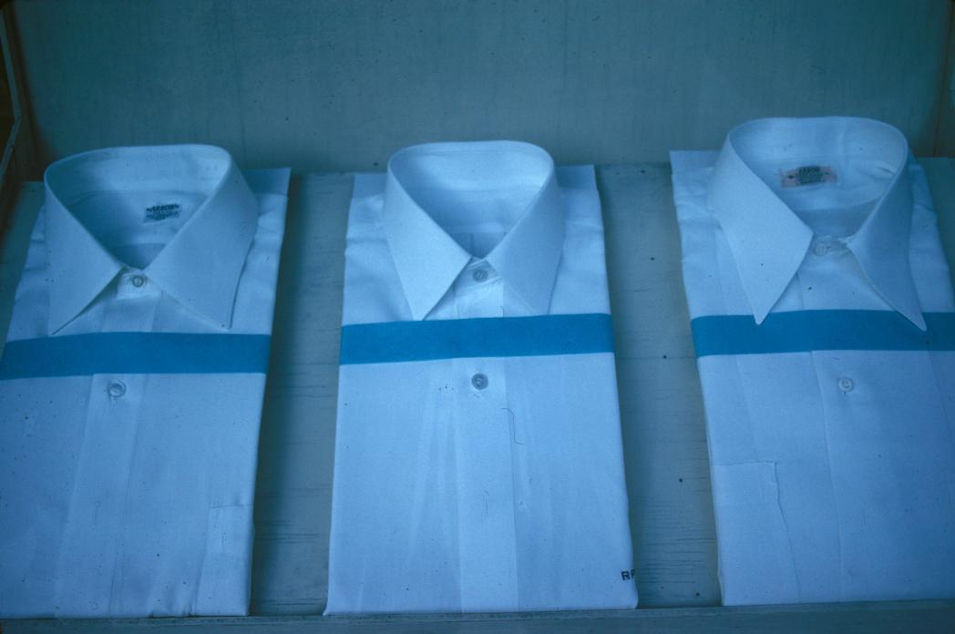 Three White Shirts. 1981