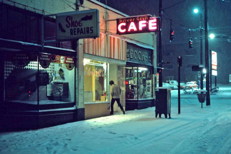 Silver Grill Cafe, Vancouver, 1975