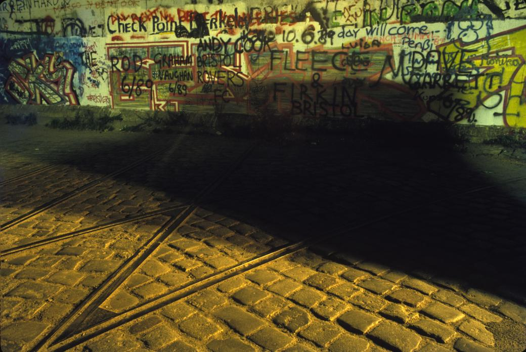 Berlin Wall (Streetcar Tracks)