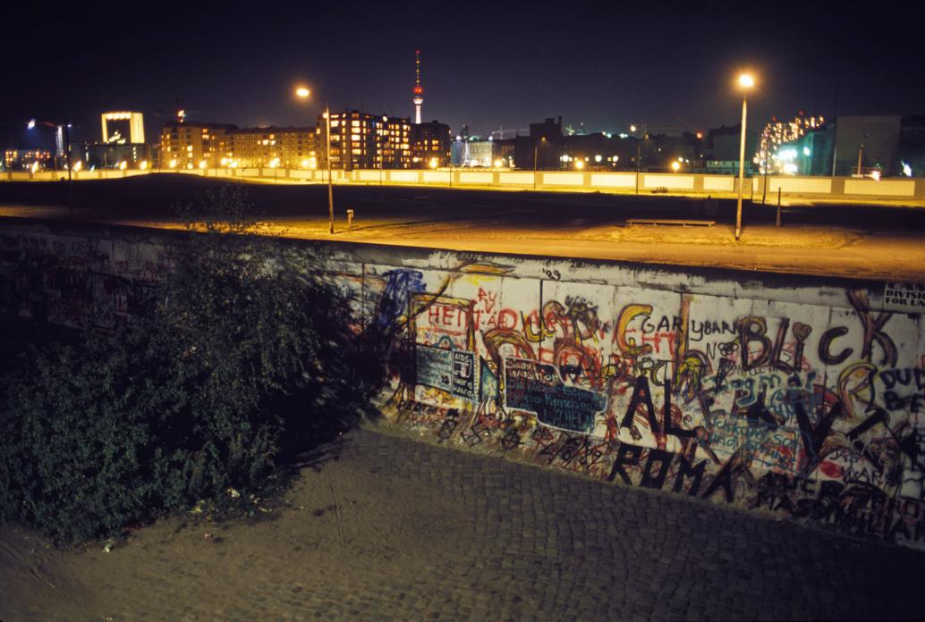 Berlin Wall  (with Bush)
