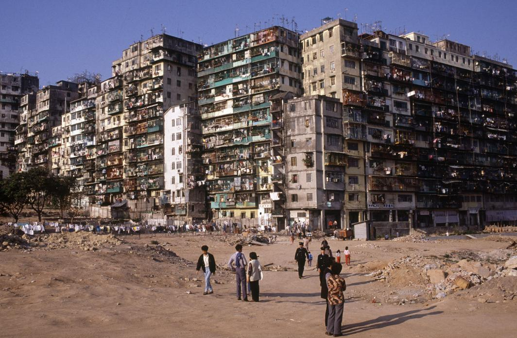 Kowloon Walled City, 1987