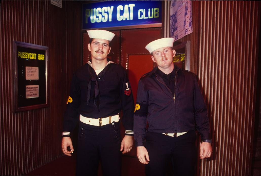 US Navy Shore Patrol, Wanchai, 1985
