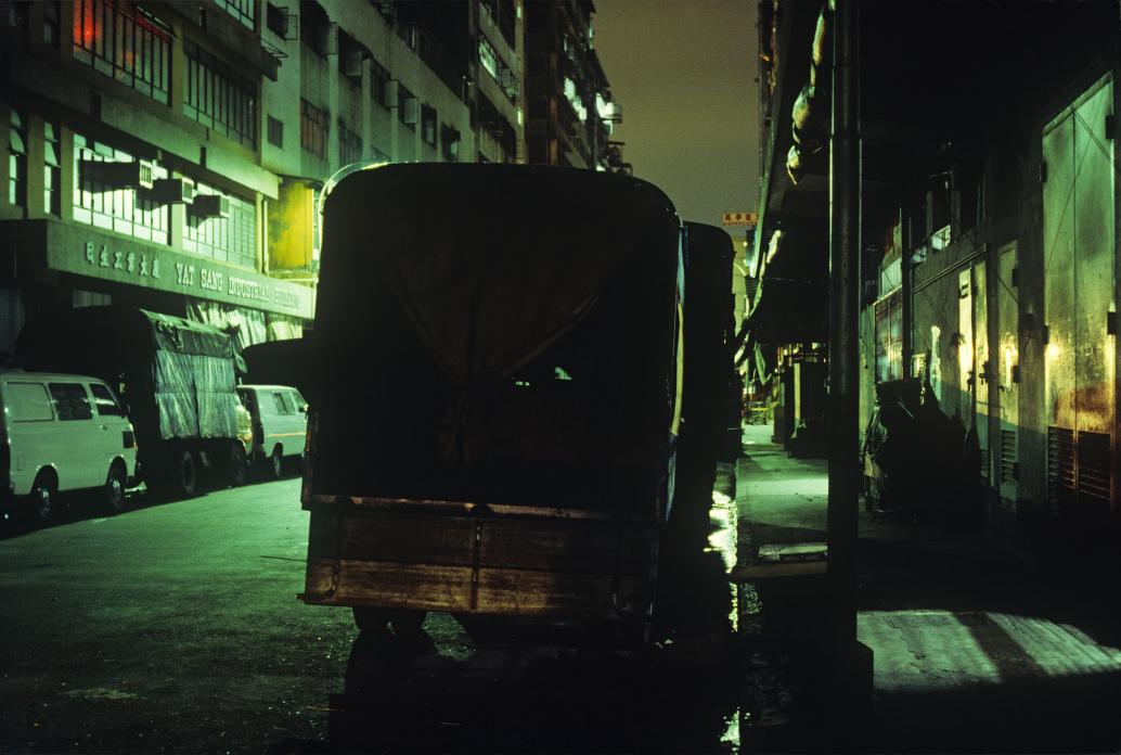 Parked Trucks, Kwun Tong, 1983