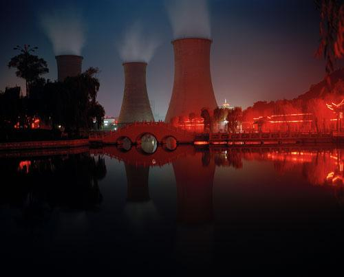 Xinlongzhuang Power Station, Shandong. 'Can China Go Green?' National Geographic, June, 2011