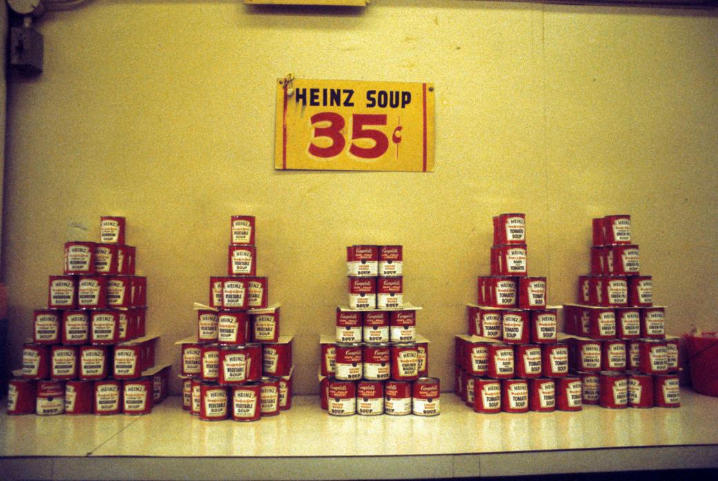 Soup. Steams Cafe. 1974