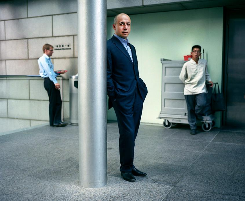 Yuri Milner for Wired Magazine, October 2011