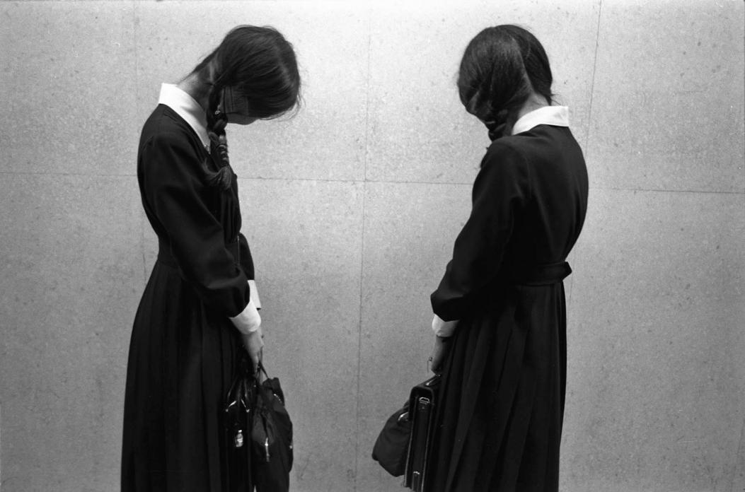 Two School Girls, 1979